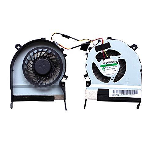 COMPUTERCOOLING / 3 PIN 1.56W Radiador de la computadora portátil Ventilador de refrigeración del radiador CPU Ventilador de enfriamiento para Toshiba Satellite M800 / M805 , Aumenta el rendimiento d