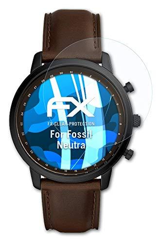atFoliX Schutzfolie kompatibel mit Fossil Neutra Folie, ultraklare FX Bildschirmschutzfolie (3X)
