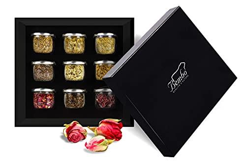 Kreieren Sie Ihr Gin Bembo - Botanisches Gin Tonic - Gewürze, Aromen und Aromen für Cocktails - Geschenkidee für Enthusiasten (Floral)