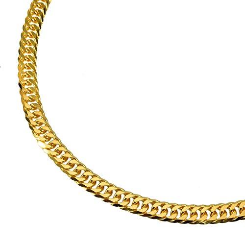 K24 純金 喜平ネックレス 6面カットダブル 50g 50cm 造幣局検定マーク 刻印入り ユニセックス 喜平 チェーン