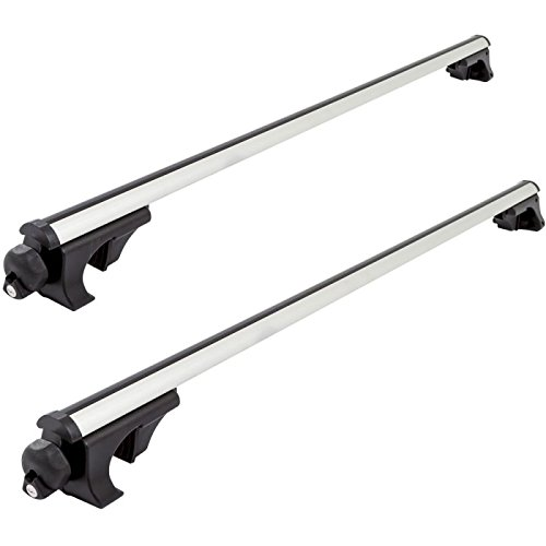 Apex Side Rail Mounted Aluminum Roof Cross Bars - Universal up to 50'
