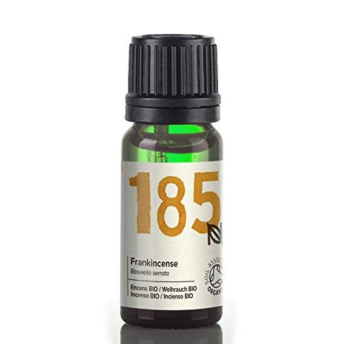 Naissance Olio di Incenso Biologico - Olio Essenziale Puro al 100%, Vegano, senza OGM - 10ml