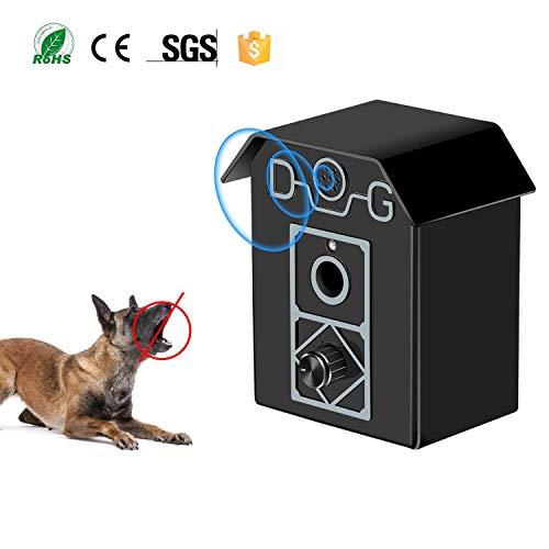 Gshine Sonic Bark Control Outdoor Bark Controller, Dog Anti...