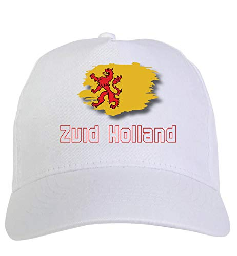Typolitografie Ghisleri cap wit Zuid Holland vlag klittenbandsluiting 123