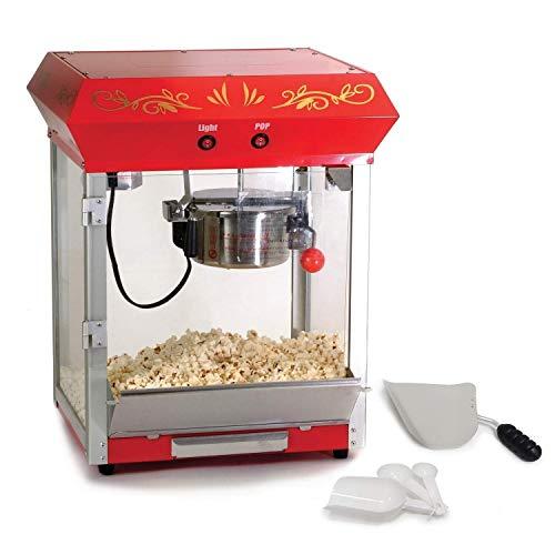 Find Bargain MISC Tabletop Popcorn Popper Red