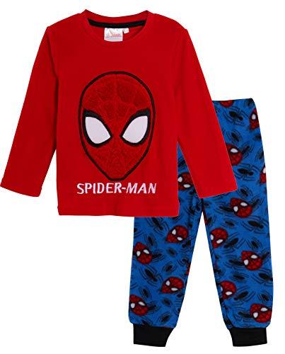 Marvel Spiderman - Pijama de Forro Polar para niños, diseñ