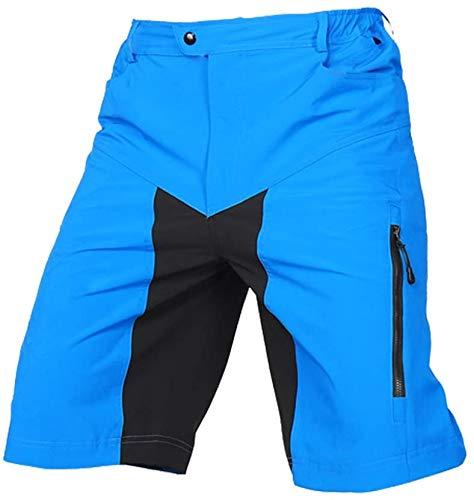 d.Stil Pantaloncini da Ciclismo Cintura Regolabile Outdoor Sport Leisure per Ciclismo da Corsa All'aperto MTB Bici Pantaloni