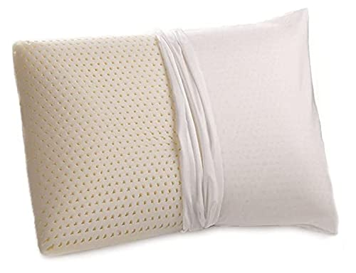 100% Talalay Natural Latex Pillow with GOTS...
