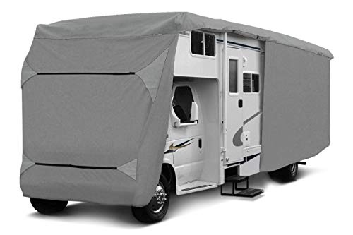 1PLUS Wohnmobil Schutzhülle Schutzhaube für Campingmobile in verschiedenen Größen (570 x 235 x 275 cm)
