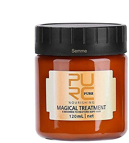 Haarmaske, 120 ml Magische Haarmaske Pflegende Behandlung Weiche Glatte Reparatur Schaden Professionelle