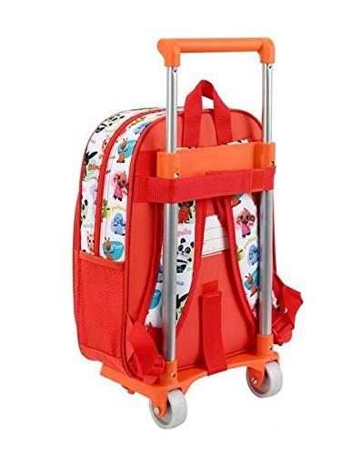 Bing - Zaino ufficiale per bambini con trolley Safta 705
