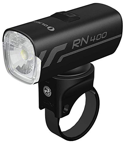 Olight RN 400 Bicycle Front Light with Maximum Run Time of 7 Hours, Max. 400 Lumens Waterproof Bike Headlight with Fast Charging USB-C port, Breaking the Dark and Escorting for Your Safety