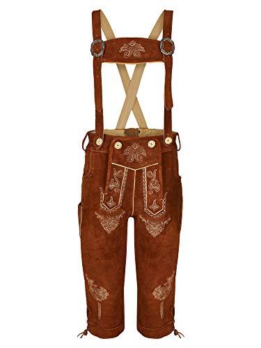 Bohmberg klederdracht-lederhose voor dames, 100% winter-sale% knieband incl. broekjes Beierse klederdrachtbroek voor Oktoberfest maat 36-46