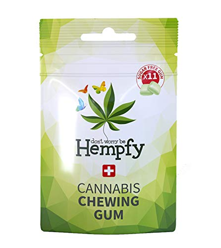 Hempfy kaugummi (2 beutel)