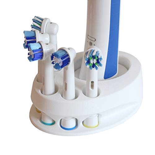 Tandenborstelhouder compatibel met Oral-B voor 5 borstels 3D-gedrukt MADE IN GERMANY