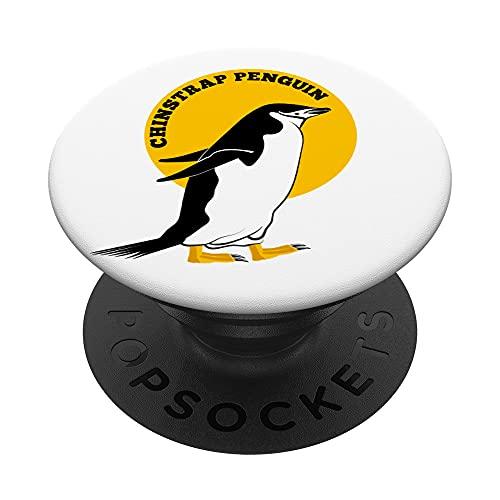Pinguino sottogola Chinstrap Penguin PopSockets PopGrip Intercambiabile