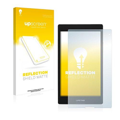 upscreen Entspiegelungs-Schutzfolie kompatibel mit Medion Lifetab S8312 (MD98989) – Anti-Reflex Bildschirmschutz-Folie Matt