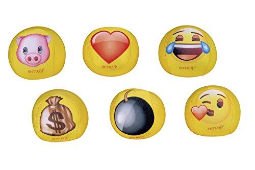 Emoji 58340 - Happy People Knautschbälle 6-Fach