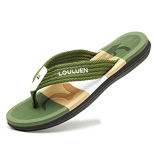 Chausson Pantoufle Sandale Men Beach Slippers Men Fashion Breathable Comfortable Male Slippers Outdoor Flip Flops 03_42