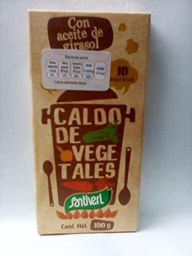 Santiveri Caldo Vegetal En Pastillas 500 g