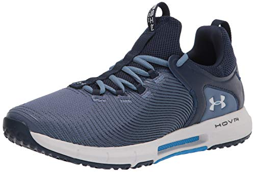 Under Armour HOVR Rise 2, Cross Trainer Hombre, Mineral Blue/Academy/Halo Gray (402),...