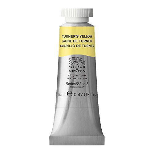 Winsor & Newton Professional Water Colour Paint, 14ml tube, Turner's Yellow