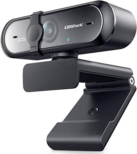 Webcam with Microphone Autofocus Campark HD 1080P USB Camera for Computer Mac Gaming Live Streaming product image