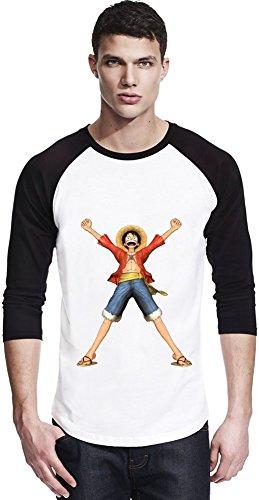 One Piece Pirates Luffy Warriors Unisex Baseball Shirt Small