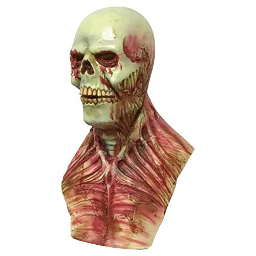 JNKDSGF Horror maskBloody Zombie Masker Halloween Enge Maskers Partij Cosplay Schedel Duivel Horror Maskerade Mascara Ghost Terror Masker Latex