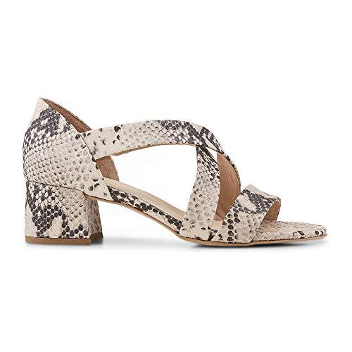 Belmondo Damen Trend-Sandalette Python Leder 40