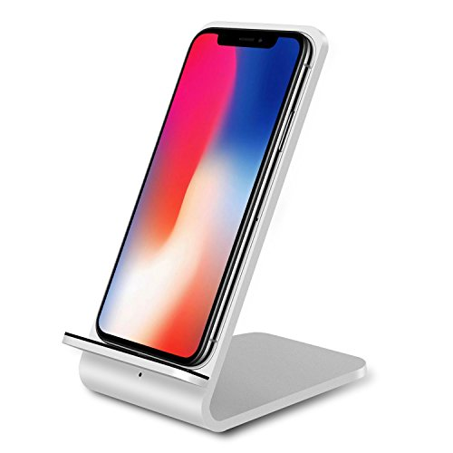 vente limitée prix de détail profiter du meilleur prix GuanChi Chargeur sans Fil Qi en Aluminium pour Galaxy Note 8 S8 S8 Plus S7  Edge S7 S6 Edge Plus Note 5 Charge Standard pour iPhone X iPhone 8 8 Plus  ...