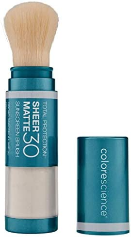 Colorescience Total Protection Sheer Matte SPF 30 Sunscreen Brush For Oily and Acne Prone Skin product image