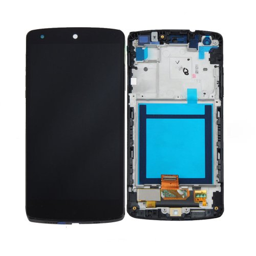 ePartSolution- LG Google Nexus 5 LG D820 D821 LCD Touch Digitizer Screen Assembly with Housing Frame Replacement Part USA Seller