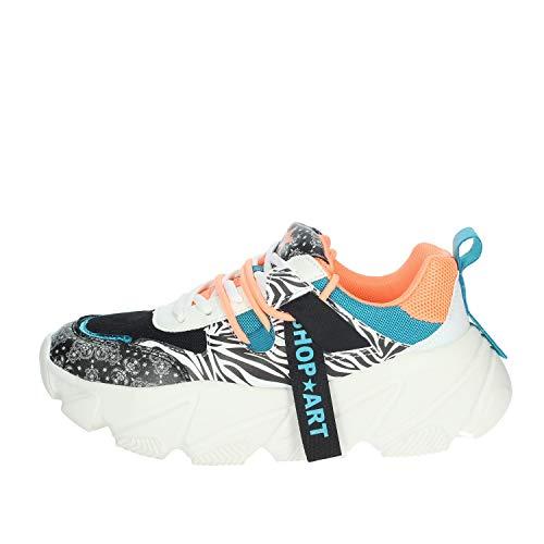 Shop Art SA050145 Sneakers Mujer Negro/Blanco 36
