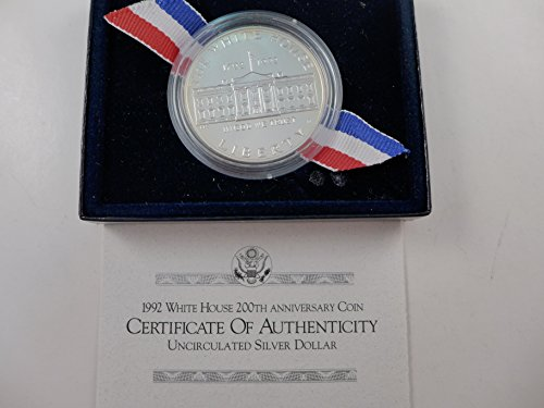 1992 The White House 200th Anniversary Coin BU...