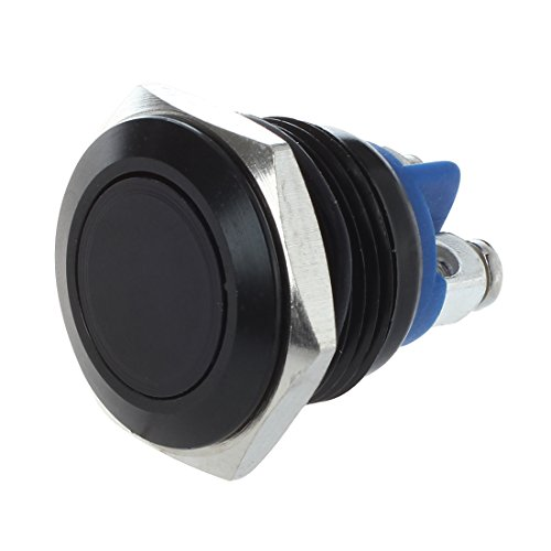 Adanse Interruptor de claxon para coche 16 mm 12 V