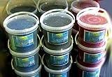 8KG deutscher Quarzkies Aquarienkies blau hochwertiger Aquarium Farbkies Bodengrund - Toppreis!