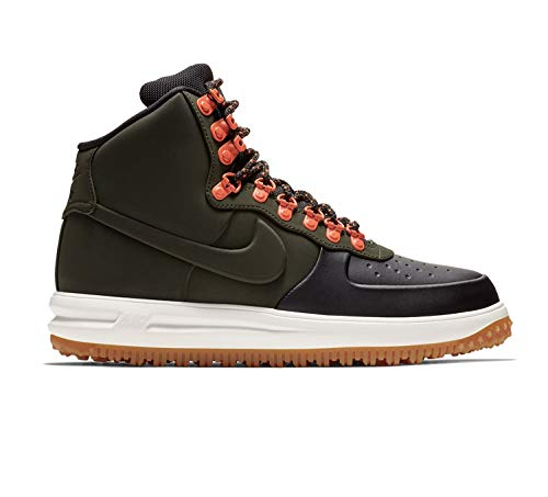 Nike Men's Lunar Force 1 Duckboot '17, Black/Sequoia-sail-gum Light Brown, 10 M US