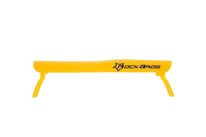 現金ネーピア司令官ROCKBROS(ロックブロス) チェーンプロテクター 自転車 泥除け HLQ007 イエロー