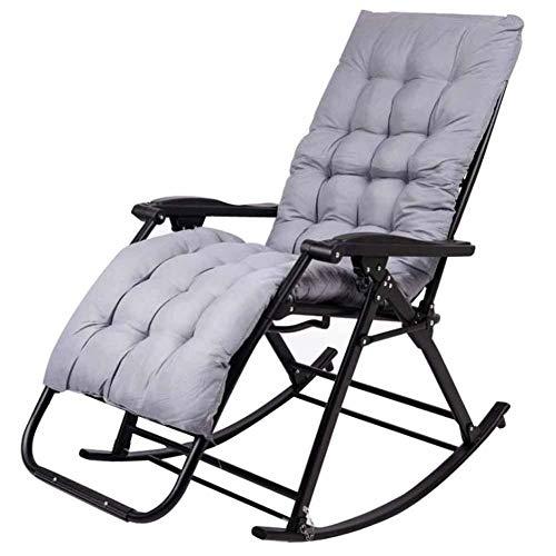 IJNBHU Silla reclinable para Actividades al Aire Libre con Gravedad Cero y portavasos, Silla Extra Ancha y Ajustable para tumbonas de Patio Garden Beach Beach, con Cojines de 200 KGB