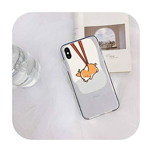 Nine-C - Carcasa para iPhone 11 12 Pro XS MAX 8 7 6 6S Plus X 5S SE 2020 XR case-a12-para iPhone 6 6S