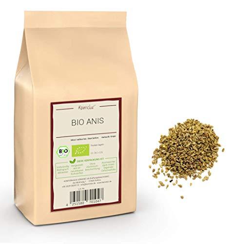 250g di BIO anice intero - semi di anice di alta qualità come base per un tè all'anice aromatico - confezionato in imballaggi biodegradabili