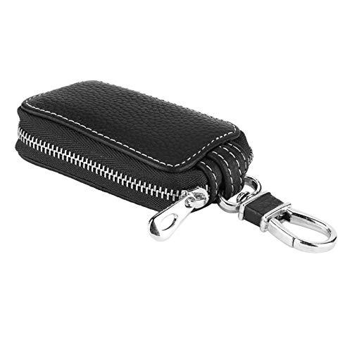 Car Smart Key Keychain Key Holder Case Keyring Zipper Bag pour la Plupart des Porte-clés et Alarme de Voiture