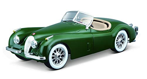 Bburago Jaguar XK 120 Roadster (1951) in Scala 1:24 Verde (18-22018G)