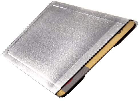 CardTresor Kartenschutzhülle aus Edelstahl RFID/NFC-Schutz
