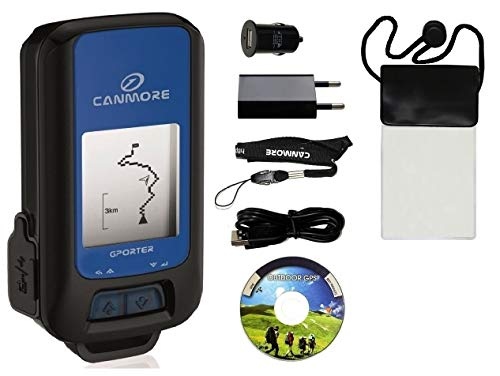 GPORTER GP-102+ Outdoor GPS Gerät, XXL Set, blau