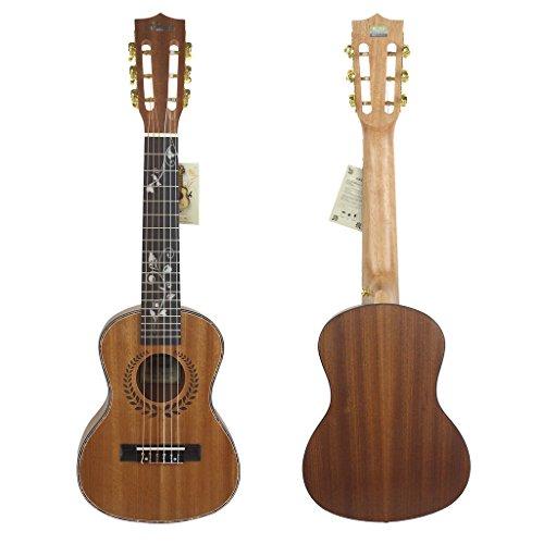chendongdong New Gitalele mit gratis Saite + Tasche–Mini oder Travel Gitarre