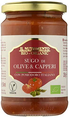 Probios Sugo Olive e Capperi Bio - Confezione da 6 x 280 g