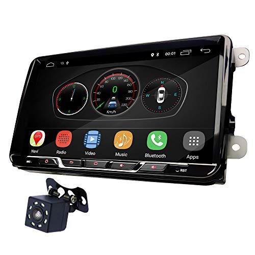UGAR VW10-S-DAB+ 9 pollici Android 10.0 2 Din Autoradio GPS DAB+ compatibile per Volkswagen VW Skoda POLO PASSAT B6 CC TIGUAN GOLF 5 Fabia