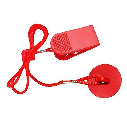 Laufband Universal Magnet Sicherheitsschlüssel für alle NordicTrack, Proform, Bild, Weslo, Reebok, Epic, Golds Gym, Freemotion, und Healthrider Laufbänder